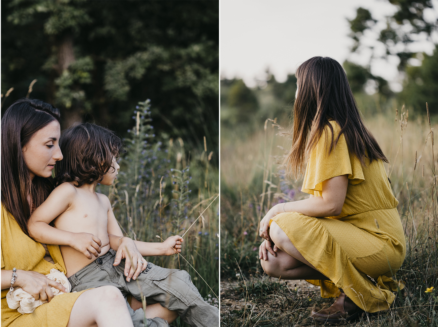 Family outdoor photo session @ Piani di Praglia. Genova. Liguria. mom hugging son. Rebecca Rinaldi Photography.