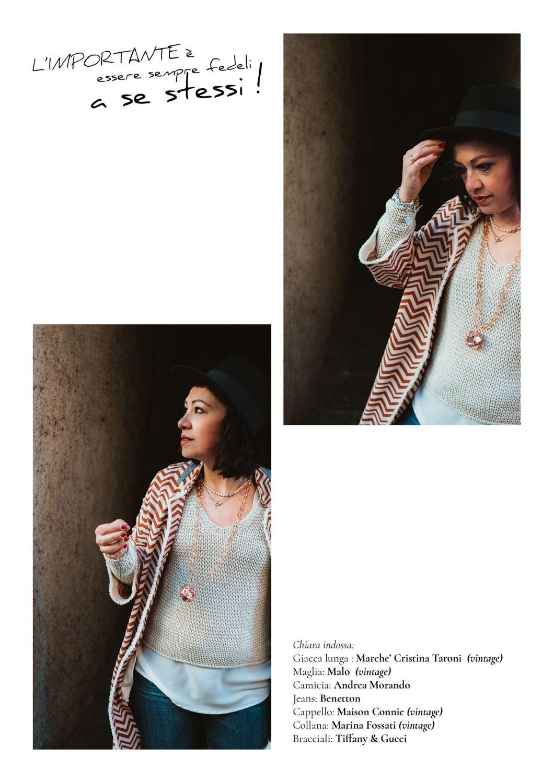 Rebecca Rinaldi Photography. Chiara pensierosa all'inizio di un vicolo.