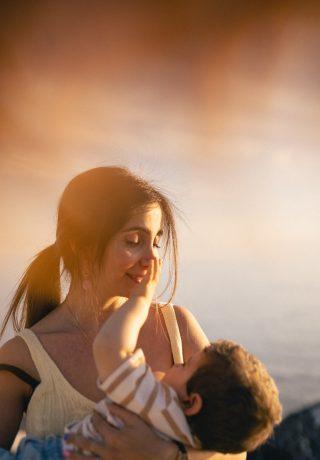 Sunset in Camogli | Servizio fotografico di famiglia